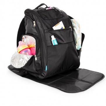 Mochila Back Pack Preta - KaBaby