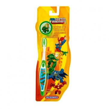 Escova Dental Infantil Com Capa Aquaman