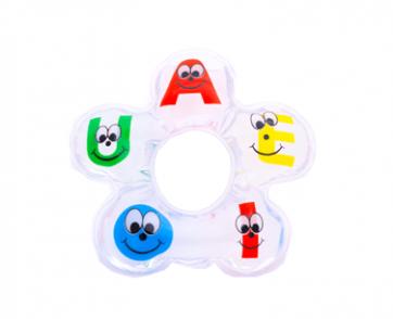 Mordedor Água Bolinha Letras - Vila Toy