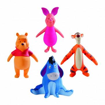 Kit Brinquedos em Latex Disney Pooh