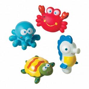Brinquedos Animais do Mar no Banho