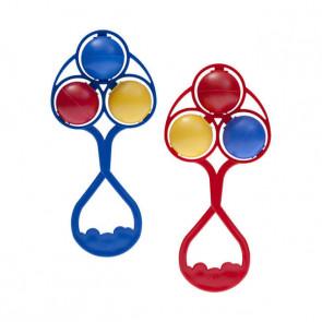 Chocalho Tricolor - Lolly