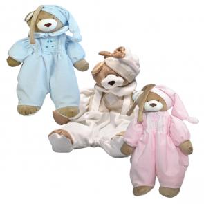 Porta Pijama Urso Nino - Zip Toys