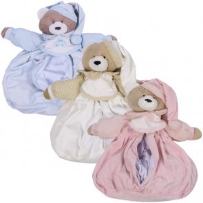 Porta Fralda Urso Nino - Zip Toys